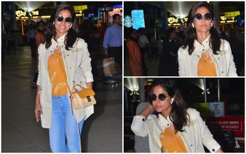 FASHION CULPRIT OF THE DAY: Hina Khan, You Can Totally Dump Those Denims!