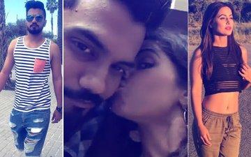 7 Romantic Pics Of Hina Khan & Boyfriend Rocky Jaiswal's Public Display Of Affection