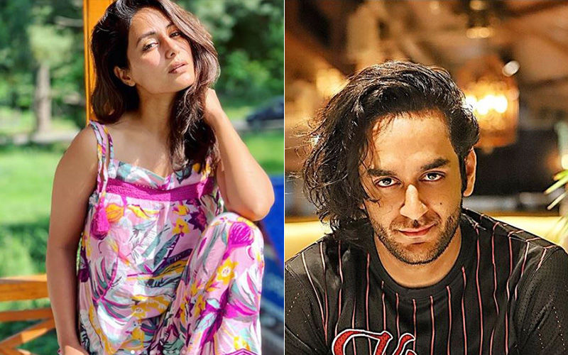 Hina Khan and Vikas Gupta's Twitter Feud Proves That Their Cold War Is Far From Over