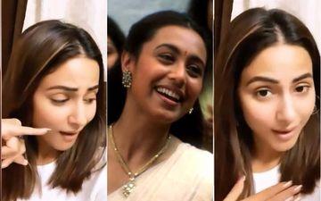 रानी मुखर्जी के फेमस गाने पर अपनी अदाएं बिखेरती दिखी हिना खान, सोशल मीडिया पर शेयर किया वीडियो