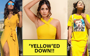 "Hina Khan Loves Saying ""Hello"" To Yellow! 10 Times Komolika Introduced The Colour In Her Wardrobe"