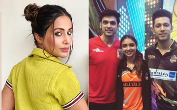 Parth Samthaan, Krystle DSouza, Vikas Gupta Rock The BCL Photo Shoot; Hina Khan Makes A Surprise Visit
