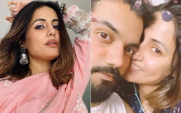 Hina Khan Is Overjoyed As She Meets Her Love Rocky Jaiswal 'After Ages' Amid Lockdown; Shares A Glimpse From Their Meeting