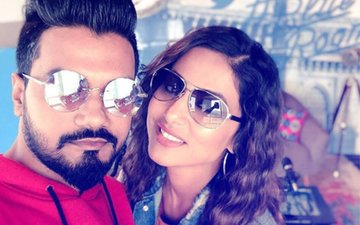 VIDEO: That's How Hina Khan Celebrated Boyfriend Rocky Jaiswal's Birthday In Sri Lanka ...