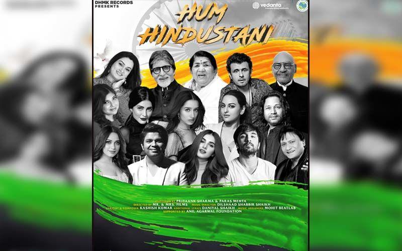 Lata Mangeshkar, Amitabh Bachchan, Sonu Nigam, Alka Yagnik, Shraddha Kapoor, Sonakshi Sinha And Tara Sutaria Come Together For The Patriotic Song Hum Hindustani