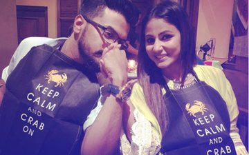 Die-Hard Romantics: Hina Khan & Rocky Jaiswal Spend Valentine's Day In Sri Lanka