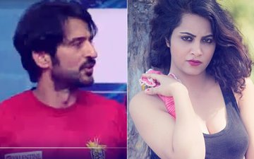 SHOCKING: Mr. Cool & Calm, Hiten Tejwani Gets Abusive, Blames Arshi Khan For Bad Luck!