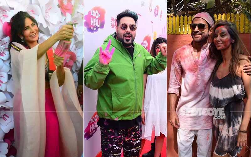 Holi 2019: Bollywood Celebrates; Katrina Kaif, Badshah, Farhan Akhtar, Shibani Dandekar And More Celebs Enjoy With Gaiety And Splendour. Check Pics