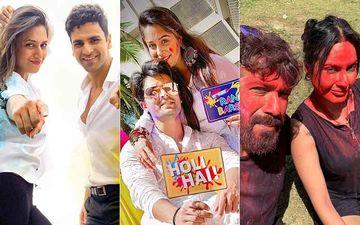 Inside Pics: Dipika Kakar-Shoaib Ibrahim, Divyanka Tripathi-Vivek Dahiya, Kamya Punjabi-Shalabh Drenched In Love On Holi 2020