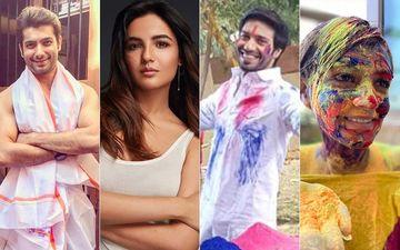 Holi 2020: Jasmin Bhasin, Sharad Malhotra, Vijayendra Kumeria, Shweta Rohira Are Focused On Saving Water!