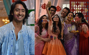 Yeh Rishtey Hain Pyaar Ke Actors Shaheer Sheikh, Rhea Sharma Celebrate Their First Holi Together On Set