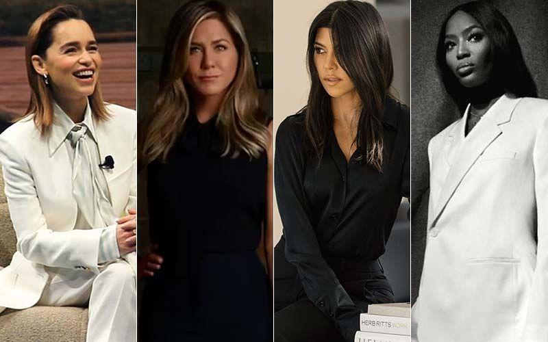 HOLLYWOOD'S HOT METER: Jennifer Aniston, Emilia Clarke, Naomi Campbell Or Kourtney Kardashian - Formal It Up