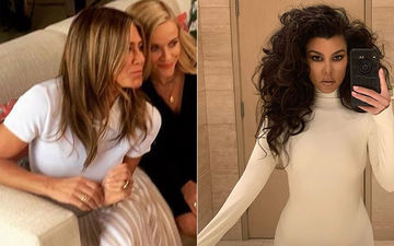 HOLLYWOOD'S HOT METER: Jennifer Aniston Or Kourtney Kardashian; Ladies In White Who Are On A Roll