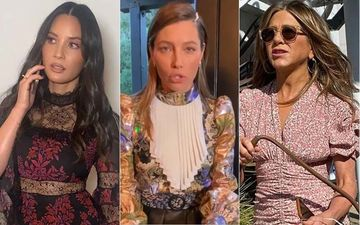 HOLLYWOOD'S HOT METER: Jessica Biel, Jennifer Aniston Or Olivia Munn - Pretty In Floral