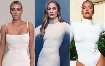 HOLLYWOOD'S HOT METER: Kim Kardashian, Jennifer Lopez Or Khloe Kardashian - The Gracious Tale Of White Bodycons