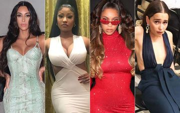 HOLLYWOOD'S HOT METER: Kim Kardashian, Nicki Minaj, Beyonce Or Emilia Clarke - Tale Of Gowns