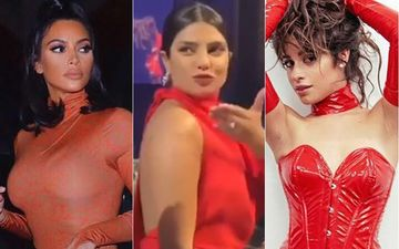 HOLLYWOOD'S HOT METER: Kim Kardashian, Priyanka Chopra, Or Camila Cabello - Rocking The Red Number