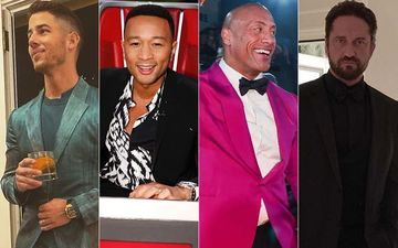 HOLLYWOOD'S HOT METER: Nick Jonas, John Legend, Dwayne Johnson Or Gerard Butler - Sexy In Suits