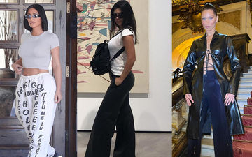 HOLLYWOOD'S HOT METER: Kim Kardashian, Kourtney Kardashian Or Bella Hadid - In Love With Baggy Pants