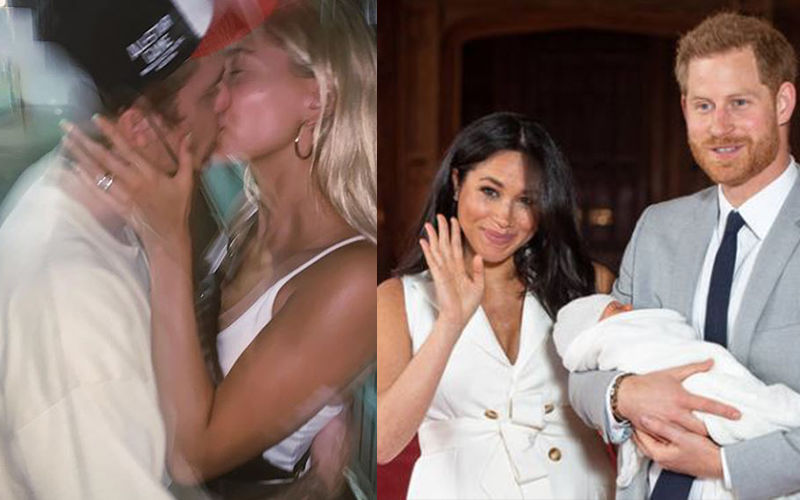 Justin Bieber Makes Out With Wife In Public; Prince Harry-Meghan Markle Receive A Special Gift From A Mumbai Dabbawala - Hollywood Wrap