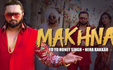 """यो यो हनी सिंह ने एक बार फिर किया धमका, यूट्यूब पर उनके गाने """"मखना"""" को 200 मिलियन बार देखा गया"""