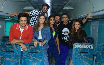 Housefull 4: Akshay Kumar, Riteish Deshmukh And The Cast Board An Express Train From Mumbai To Delhi For Promotions