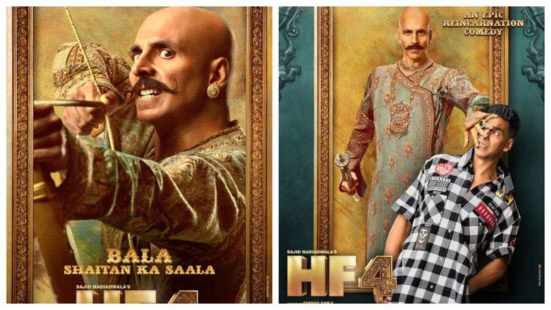 Housefull 4 Poster: Two Looks Of Akshay Kumar Revealed, Meet Rajkumar Bala And Harry