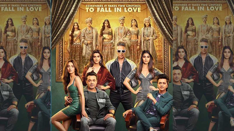 Housefull 4 New Poster: Akshay Kumar, Kriti Sanon, Riteish Deshmukh Promise One Heck Of An Entertaining Ride, Trailer Out Tomorrow
