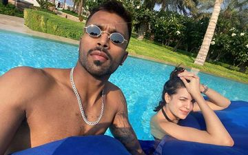 Natasa Stankovic Is Majorly Missing Husband Hardik Pandya; Shares A Throwback Picture Of Them Together Chilling In A Pool