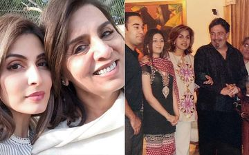 Mother's Day 2020: Riddhima Kapoor And Hubby Bharat Sahni Send Love To Neetu Kapoor; Their Daughter Samara Bakes A Cookie For 'Nani'