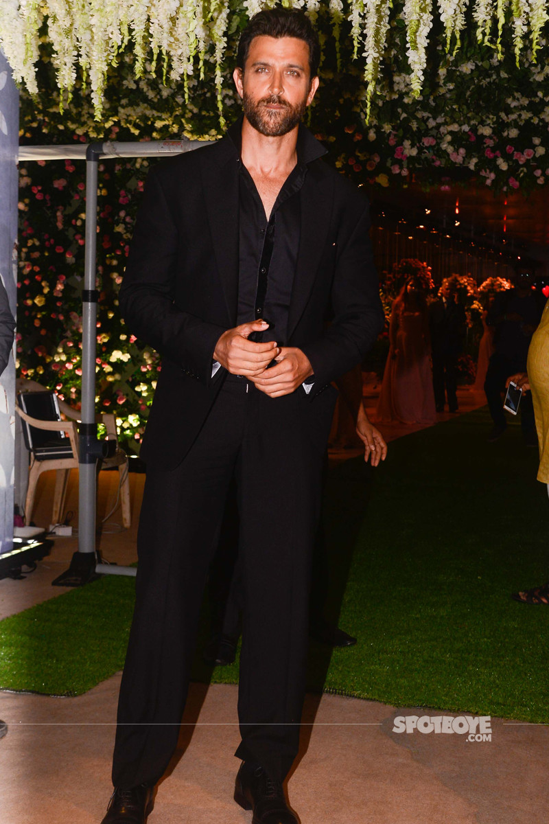 hrithik roshan at poorna patel reception
