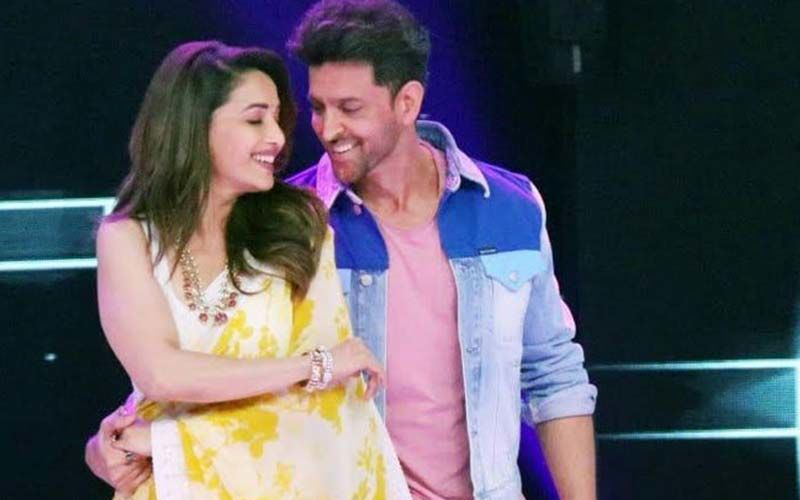 "Hrithik Roshan Is A Fanboy As He Grooves With Madhuri Dixit; Says, ""I Still Aspire To Be Your Hero"""
