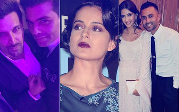What Are Kangana's Enemies Hrithik-KJo Doing In London? Sonam & Her Boyfriend Anand Were Round The Corner!