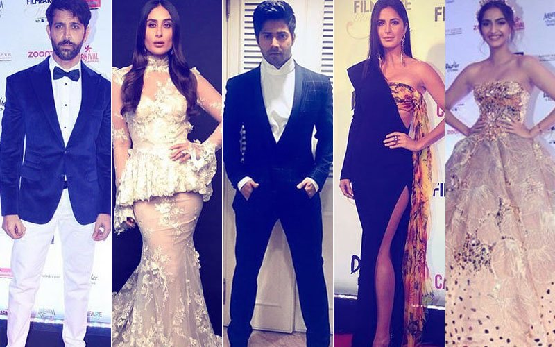 Filmfare Glamour & Style Awards: Hrithik, Kareena, Varun, Katrina & Sonam Walk Away With Trophies...