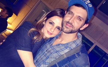Hrithik Roshan's Ex-Wife Sussanne Khan Moves Closer To The Superstar