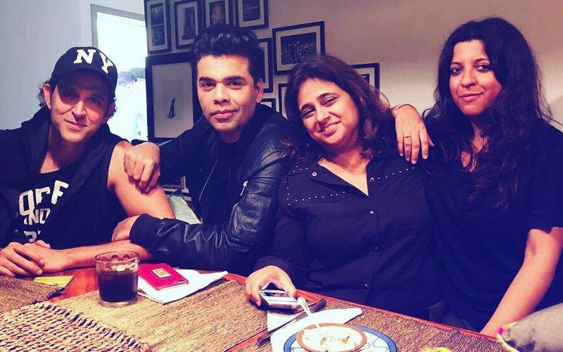 Guess What Hrithik Roshan & Karan Johar Are Celebrating With Akhtars?