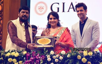 Hrithik Roshan Attends The 43rd Giants International Convention