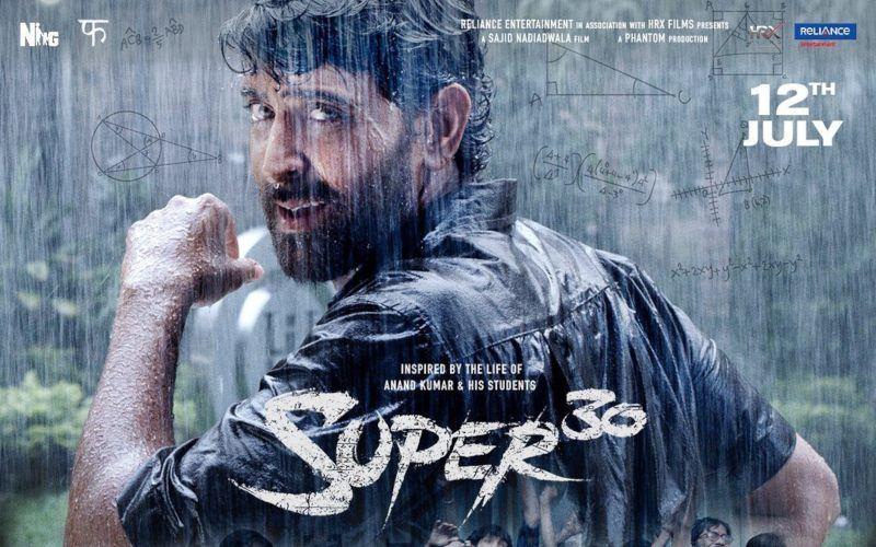 """ऋतिक रोशन की फिल्म """"सुपर 30"""" का नया पोस्टर आया सामने, फैंस के लिए इसमें छिपा है सरप्राइज भी"""