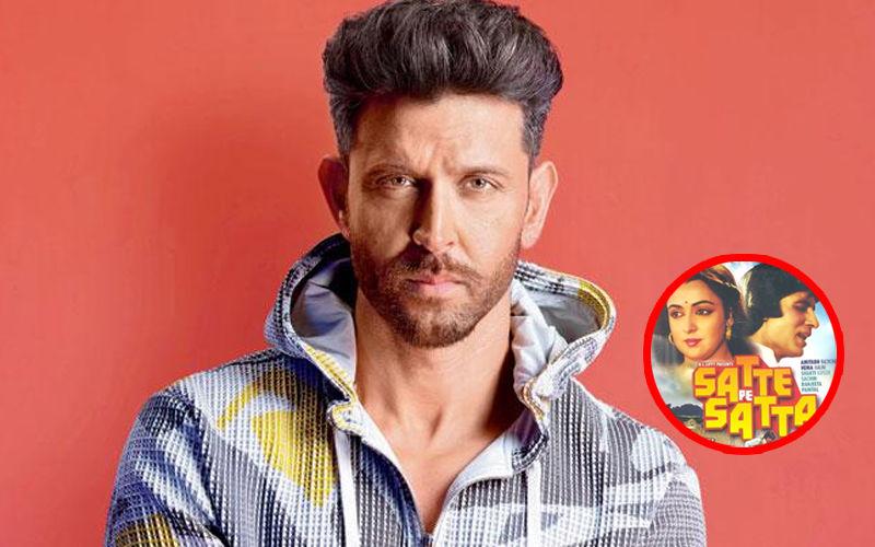 Is Hrithik Roshan, Actually Starring Opposite Deepika Padukone In Satte Pe Satta Remake? Super 30 Actor Finally Reacts