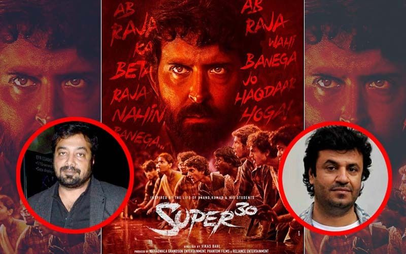 Confirmed: No Director's Credit For #MeToo Accused Vikas Bahl In Hrithik's Super 30; Anurag Kashyap Will Complete The Project