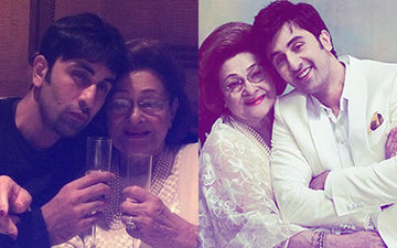 Krishna Raj Kapoor's 5 Memorable Pictures With Grandson Ranbir Kapoor