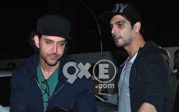 Hrithik's Movie Time With Sons