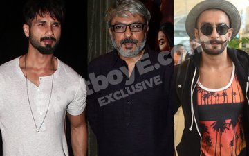 Shahid Threatens To Quit Padmavati, Bhansali Summons Feuding Stars To Save Film