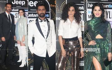 HT Most Stylish Awards 2019: Arjun Rampal Enters With Girlfriend Gabriella; Vicky Kaushal, Taapsee Pannu, Sunny Leone Make A Fashionable Splash