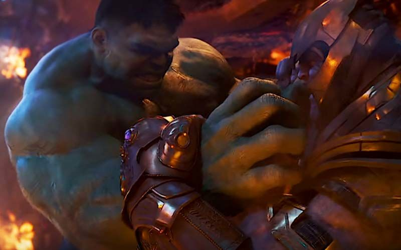 Avengers: Endgame-The Art Of The Movie Reveals Hulk VS Thanos Rematch; Was This A Major Scene Deleted?