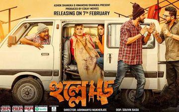 Hullor New Poster Starring Srabanti Chatterjee, Soham Chakraborty, Om And Darshana Banik Is Out