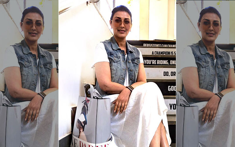 HURRAH! Cancer Survivor Sonali Bendre Springs Back Into Action, Resumes Shooting!
