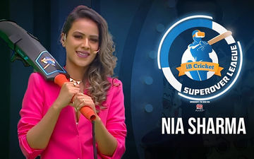 iB Cricket Super Over League: Nia Sharma Aces Virtual Reality Cricket- Watch Video