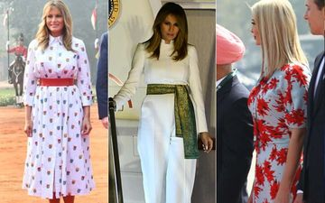 Ivanka And Melania Trump's Style Files: FLOTUS Adds Indian Touch To Her Outfit; Ivanka Sets Example For Sustainable Fash