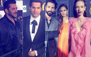 IIFA 2017: Salman Khan,Varun Dhawan, Shahid Kapoor & Mira Rajput, Kalki Koechlin Walk The Green Carpet